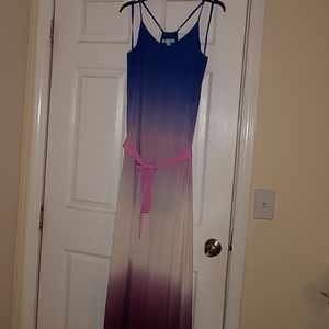 Boutique dress. She and Sky .